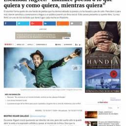 Entrevista a Escandar Algeet en Culturas del diario Público.