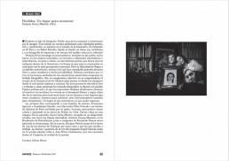 Reportaje en la revista Viento Sur nº 154 sobre el trabajo de retrato fotografico