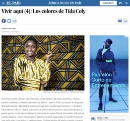 El País | Reportaje fotográfico documental Los colores de Tida Coly realizado por Demian Ortiz y Chema Caballero.