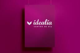 Idealia Centro de Día para Mayores | Creación de naming, diseño de imagen corporativa y branding