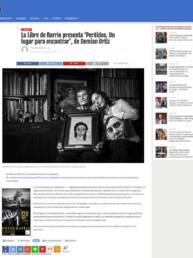 Diario Crónica | Noticia en Prensa Digital. La Libre de Barrio presenta Perdidos. Un lugar para encontrar del fotógrafo Demian Ortiz.