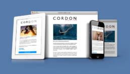 Cordon Creative | Diseño de campaña de email marketing para la promoción de la venta de las fotografías y vídeos de banco de imágenes