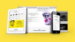 Qué Happy! | Diseño de página web corporativa y creación de copys publicitarios.